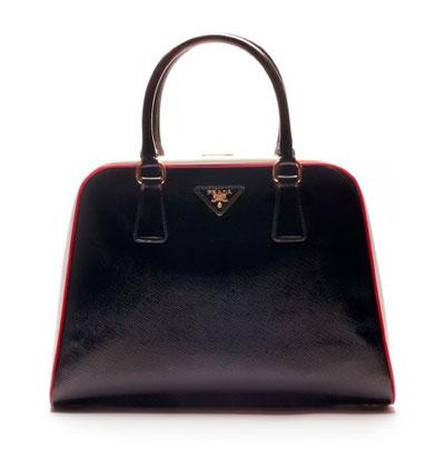 Prada bags at Fashion Week in Milan