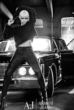 Rihanna for Emporio Armani Jeans