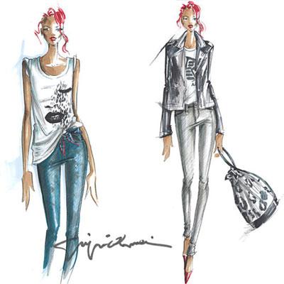 Rihanna for Emporio Armani jeans ad