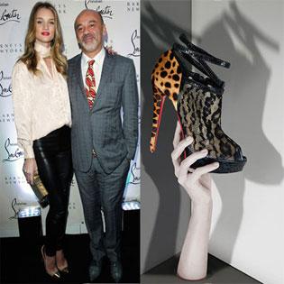 Rosie Huntington Whiteley Prefers Christian Louboutin Shoes