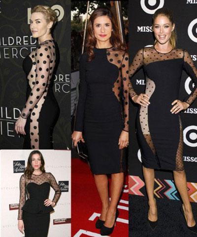Celebrities in Stella McCartney dresses