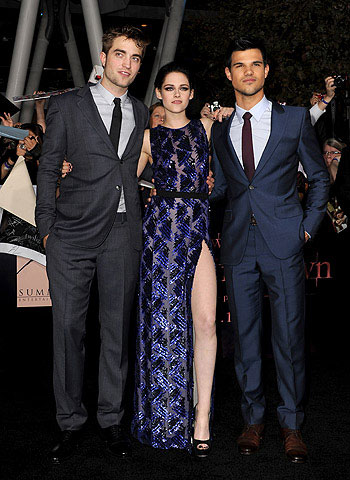 Twilight Saga Breaking Down premiere