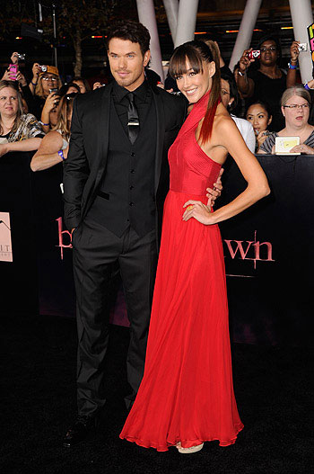 Twilight Saga Breaking Down premiere in Los Angeles
