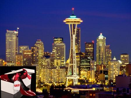 American Shopaholic cities