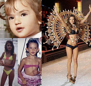 Alessandra Ambrosio Childs Pictures