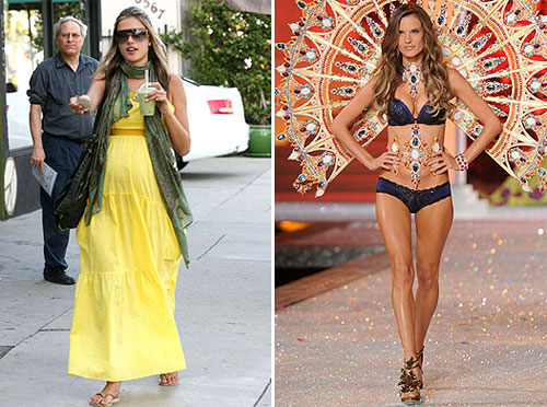 Alessandra Ambrosio weight loss