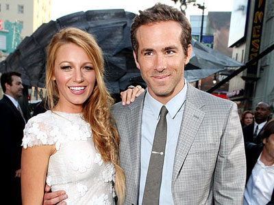 Couple 2011 Blake Lively and Ryan Reynolds