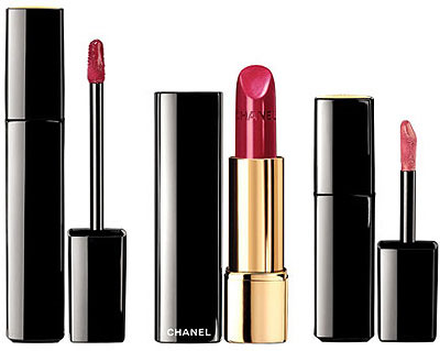 Chanel Holiday Makeup Collection Lipsticks