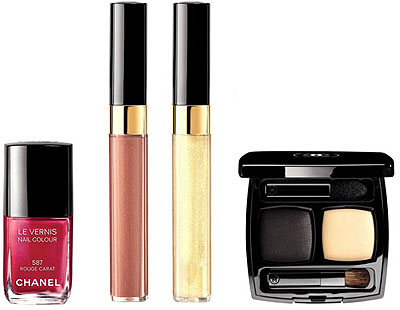 Chanel Holiday Makeup Collection for Christmas