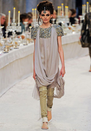 Chanel autumn pre-collection Paris-Bombay