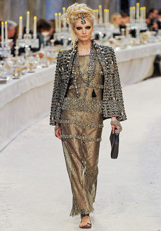 Indian style in Chanel collection