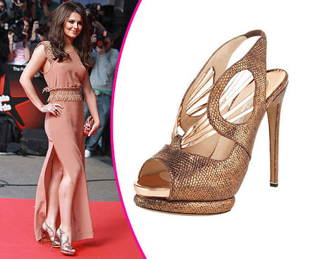 Cheryl Cole high heels collection
