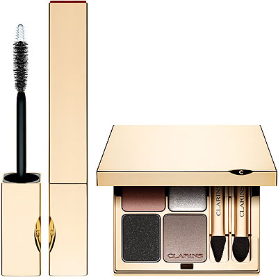 Clarins Holida Makeup Eyeshadows and Mascara
