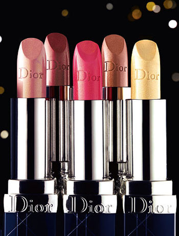Dior Lipsticks Rouge Or Collection
