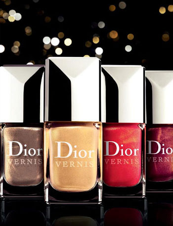 Dior The Rpuge Or Collection Nail Enamels