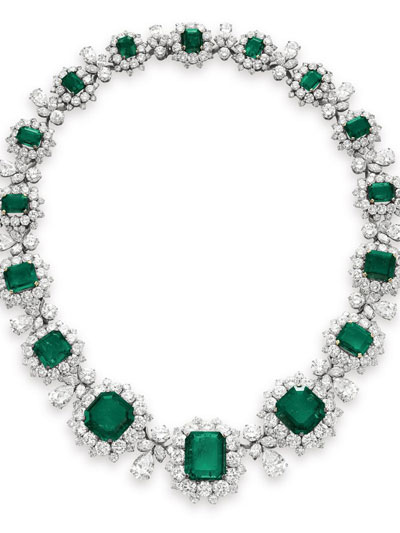 Christie's auction sold jewelry of Elizabeth Taylor
