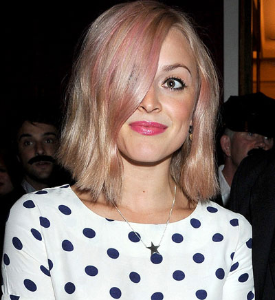 Fearne Cotton colored hair