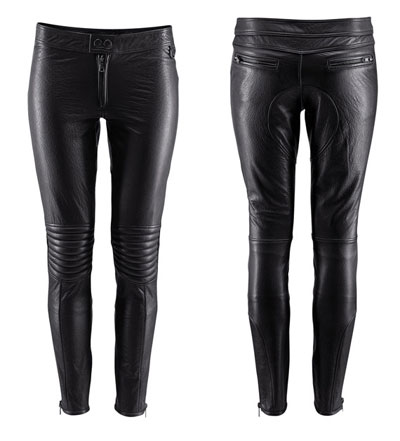 Leather pants by HM