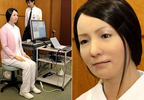 fille japonaise robot image