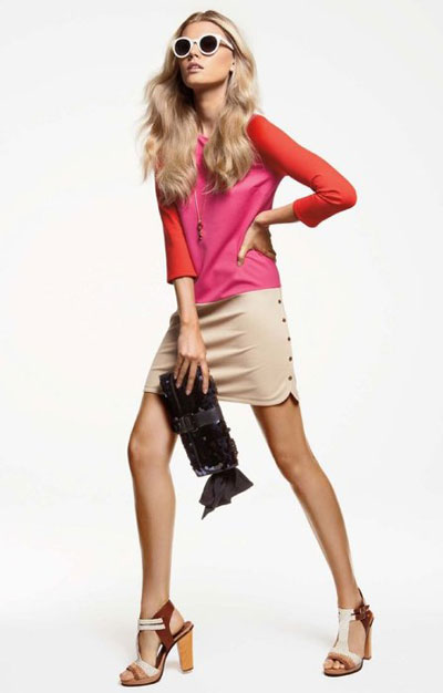 Juicy Couture Spring 2012 bright colors