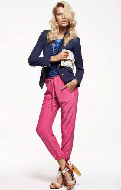 Juicy Couture Spring 2012 Pink and Blue
