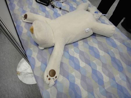Teddy Bear Robot Pillow