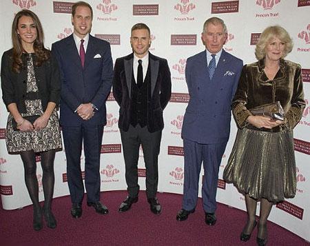 Kate Middleton wearing mini dress for concert