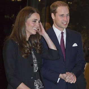 Kate Middleton and Prince William at Gary Barlow concert