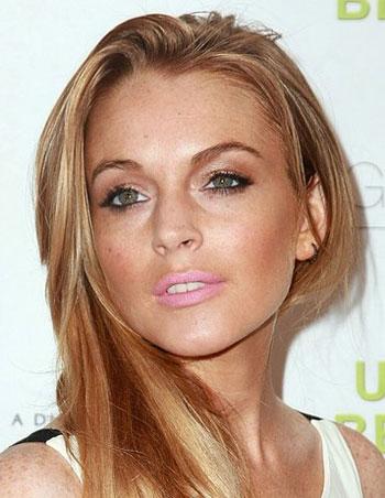 Lindsay Lohan makeup mistakes
