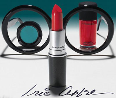 Iris Apfel for MAC Makeup collection