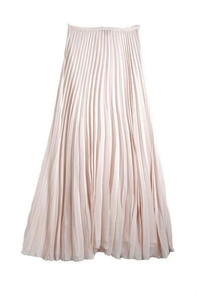 Pleated skirt by Mango