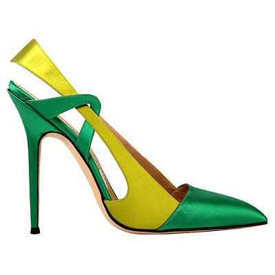 Colorful shoes by Manolo Blahnik