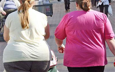 British women are overweight