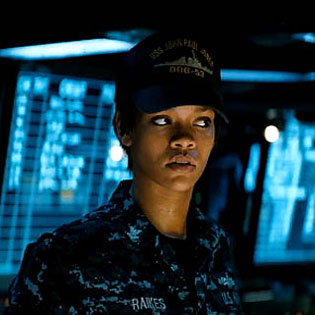 Rihanna starring in Battleship