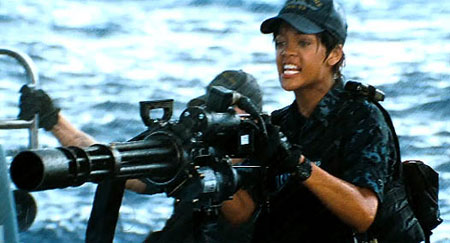 Rihanna in new film Battleship