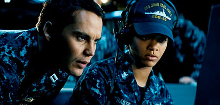 Rihanna officer Raikes in Battleship