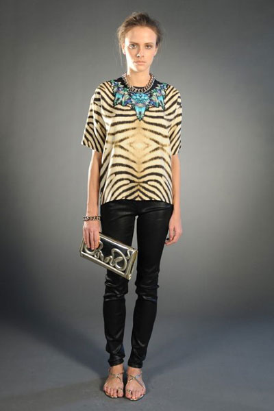 Pre-fall 2012 collection by Roberto Cavalli