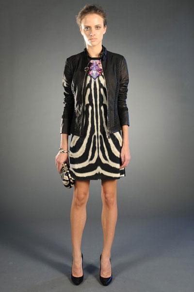 Roberto Cavalli pre-fall 2012 collection dress