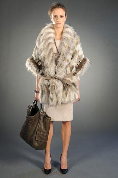 Roberto Cavalli pre-fall collection fur