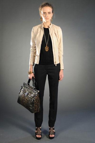 Roberto Cavalli pre-fall collection clothes and accessories