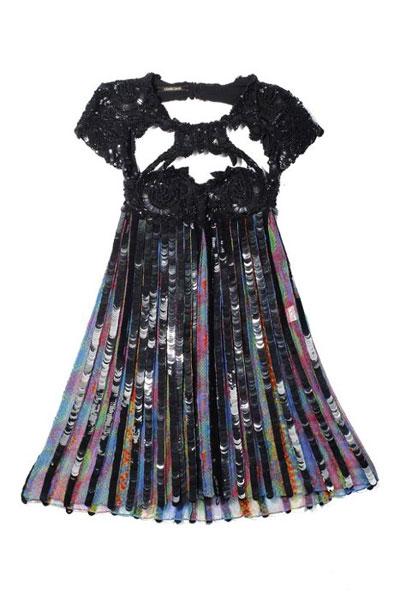 Pleated dress by Roberto Cavalli