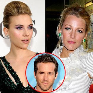 Scarlett Johansson and Blake Lively