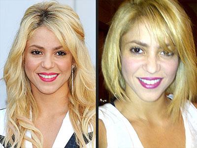 Shakira has new hair style