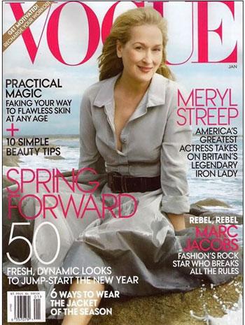Meryl Streep in Vogue