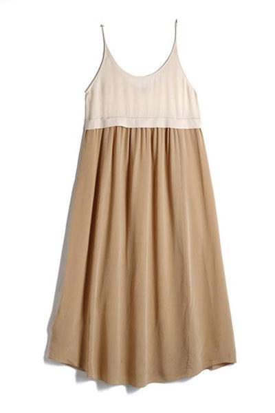 Feminine pleated skirt