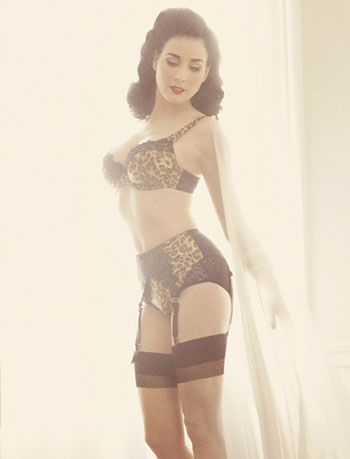 dita von teese presents the second lingerie collection | fashion