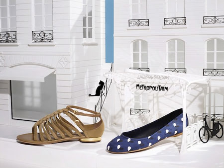 Stylish shoes by Louis Vuitton