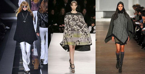 Poncho and skirts