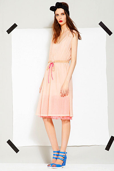 Sonia Rykiel women dress Spring summer 2012 collection