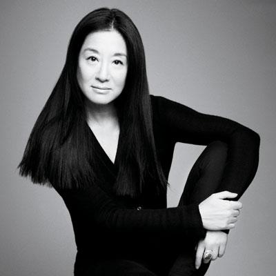 American designer Vera Wang